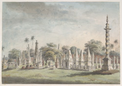 The old European cemetery at Patna